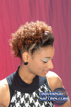 NATURAL HAIR STYLES__from__! CHAISTY PLAYER!!