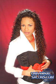 Long Hairstyle with Tight Curls from Marcus Doss