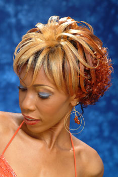 COLOR HAIR STYLES from REGINALD MACK