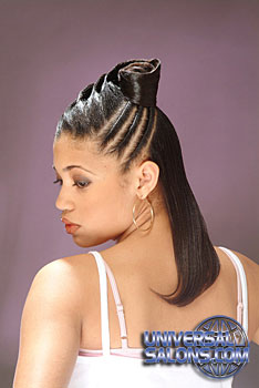 Long Hairstyle With Twist From Ayanna Graves Universal