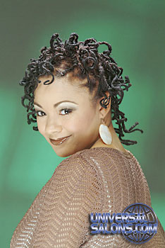 Natural Twist Hairstyle from Kimeka White