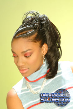 Ponytails with Twist Hairstyle from Palmica Robinson