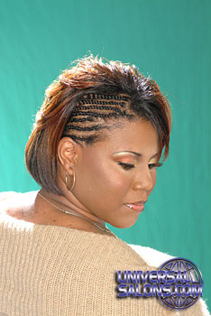 MEDIUM HAIR STYLES from__ RASHEEDA CLARK!!!
