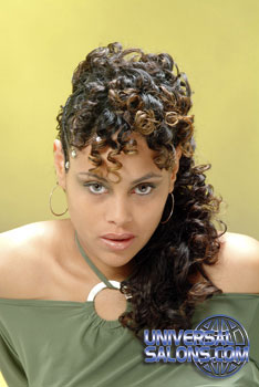 CURLY HAIR STYLES from CHINA WILLIAMS