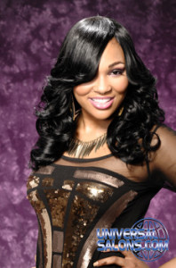 Sew In Long Black Hairstyle from Marcus Doss