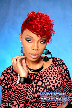 COLOR HAIR STYLES from EBONY CURTIS