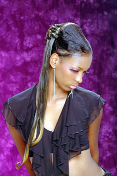 PONYTAIL HAIR STYLES_from_EVELYN HARRIS