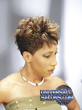 SHORT HAIR STYLES from AYANNA GRAVES