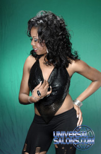 Tammy Herod's Curly Chic Long Hairstyle with Curls