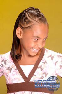 Elegant Kid's Braids Hairstyle from Deirdre Clay