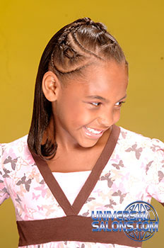Elegant Kid's Braids Hairstyle from Deirdre Clay