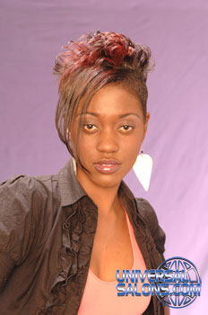 MOHAWK HAIR STYLES from DERRIAN FRANCIS