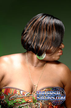 Short Bob Hairstyle with Highlights from Tiffany Cunningham