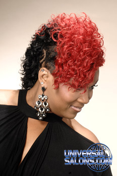 Mohawk Hair Styles From Monica Robinson Universal Salons