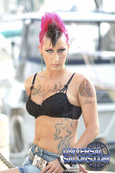 MOHAWK HAIR STYLES from TANGIE EDWARDS
