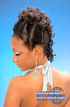 CURLY HAIR STYLES__from___REGINALD MACK!!!