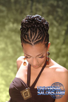 Up Do S From Reginald Mack Black Hairstyles From