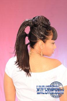 PONYTAIL HAIR STYLESfromRASHEEDA BERRY