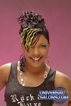 MOHAWK HAIR STYLES from MISHAUANA JOHNSON