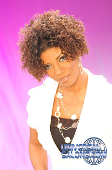 CURLY HAIR STYLES from RASHEEDA CLARK