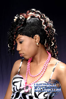 """""""Rocked Out Mohawk """" Hairstyle from Yolanda Service"""