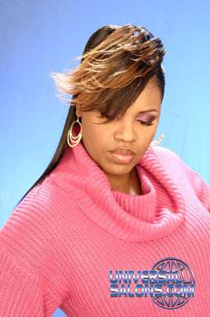 FLIP HAIR STYLES from KENYETA ROSS