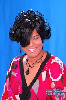 FLIP HAIR STYLES from NANCY HAMILTON