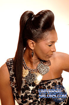 ponytail hair styles universal salons hairstyle and hair