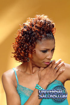 CURLY HAIR STYLES from @ REGINALD MACK!!!……