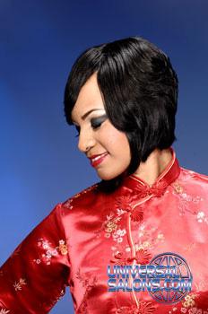 Tiffany Cunningham's Razor Cut Short Hairstyle