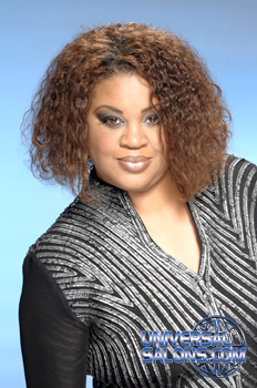Tammy Herod's Beautiful Curly Hairstyle with Hair Color