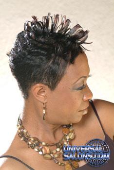 SHORT HAIR STYLES From ROCHELLE SANDERS