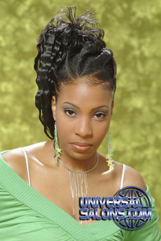 PONYTAIL HAIR STYLES from TAMIKIA SAMUELS
