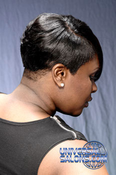 SHORT HAIR STYLE from KADISHA HOWARD