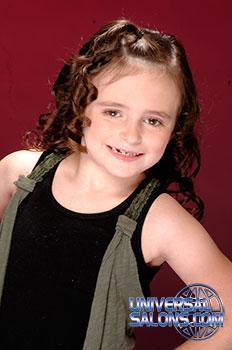 Cute Kid's Hairstyle from Tenika Brentley