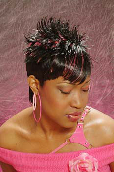 SHORT HAIR STYLES from DONYA KENNEDY