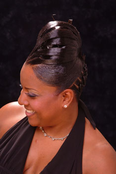 PONYTAIL HAIR STYLES from__DILCIE LAVON STIMPSON