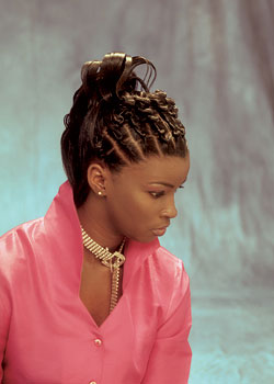 Ponytail Hairstyle from Shannon Cobb