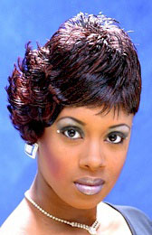 Beautiful Short Hairstyle with Color from Sherri Pollard