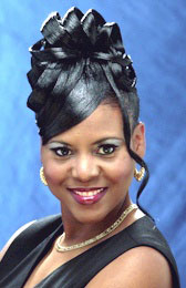 Beautiful Updo Hairstyle from Crystal Williams