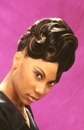 Updo Hairstyle from Kimberly Lee