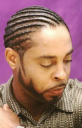 Men's Twist Hairstyle from Ron Baldwin
