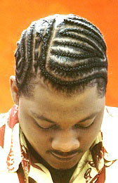 Men's Braids Hairstyle from Rosee Adams
