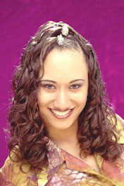 Long Curly Hairstyle from Agatha Martin Grimes