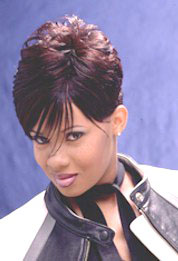 Striking Short Hairstyle from Sheri Pollard