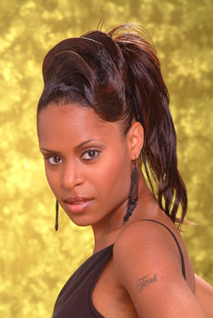 PONYTAIL HAIR STYLES from TAMICA CAMPBELL