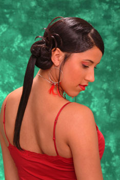 Ponytail Hairstyle from Naomi Russell