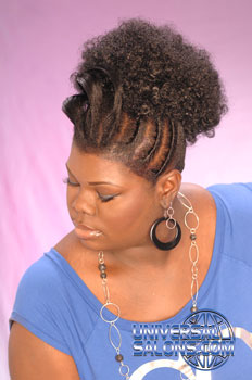 Hairstyle Extensions from Nikki Glasgow