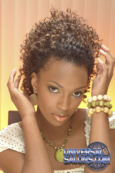 Cute Curly Hairstyle from Katrina Ammons