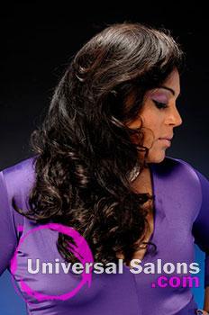 "Tiffany Cunningham's Long ""Senorita"" Curly Hairstyle"